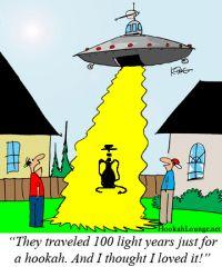 Hookah aliens