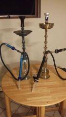 my 2 hookahs