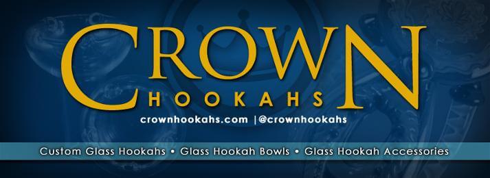 Crown Hookahs Banner