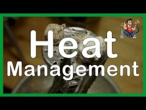 Hookah Heat Mangement