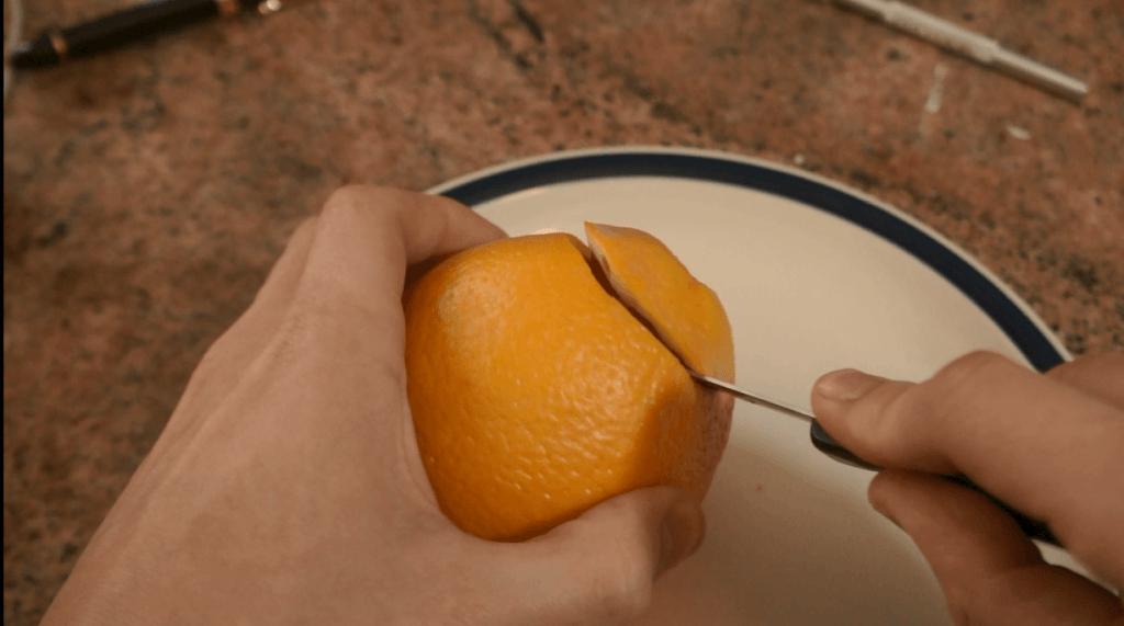 Orange Hookah Bowl