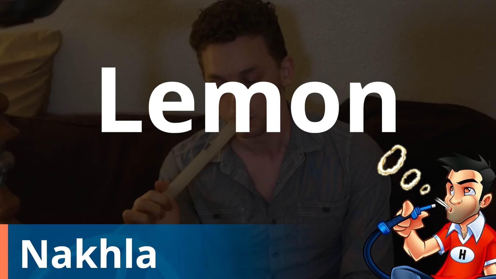 Nakhla Lemon Shisha Review