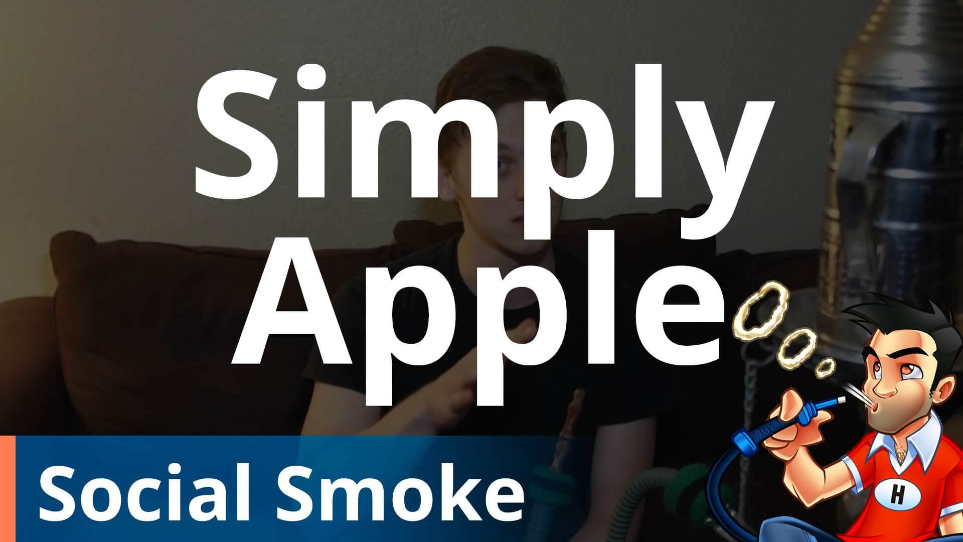 Social Smoke Simply Apple Shisha Review
