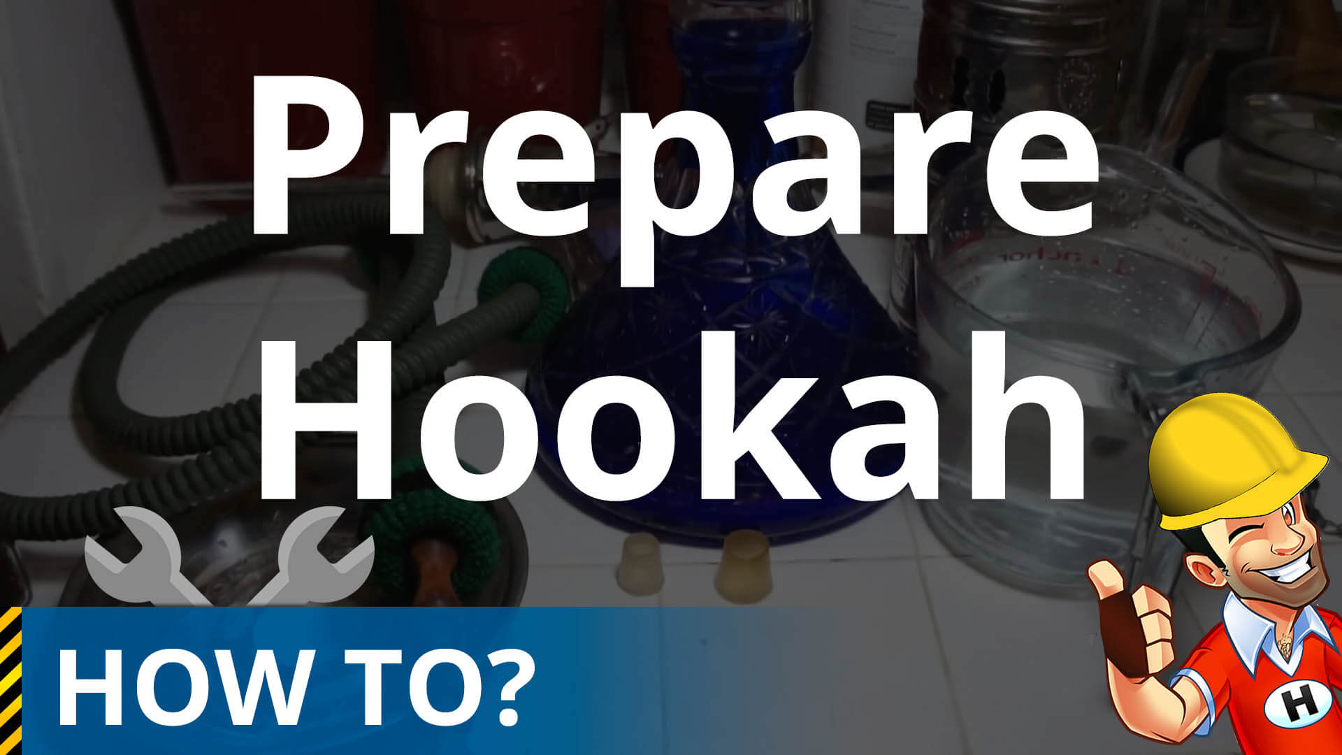How to prepare a hookah